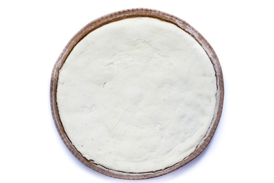 White base for pizza